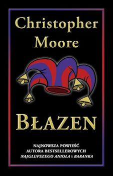 Błazen Christopher Moore okładka polskiego wydania