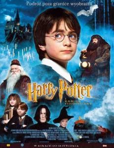 plakat z filmu Harry Potter i Kamień filozoficzny
