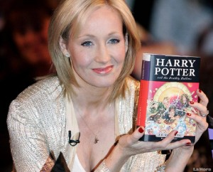 J.K. Rowling autorka Harrego Pottera