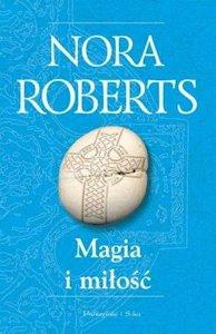 Polska wersja okładki Magia i miłość autorstwa Nory Roberts