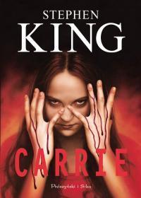 Okładka książki Carrie Stephena Kinga (polskie wydanie)