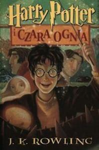 Okładka polskiej wersji Harrego Pottera i Czary Ognia