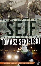 Okładka książki Tomasza Sekielskiego - Sejf