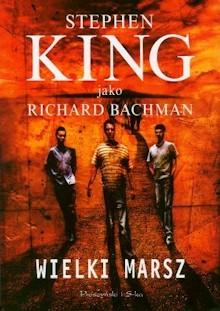 Wielki Marsz autorstwa Stephena Kinga - okładka książki