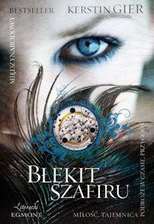 Recenzja książki Błękit szafiru - Kerstin Gier