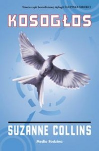 Okładka książki Kosogłos autorstwa Suzanne Collins