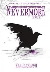 Okładka książki Nevermore Kruk autorstwa Kelly Creagh