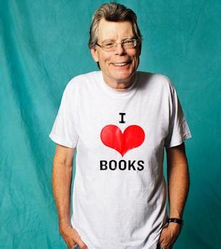 nizwykły autor książek grozy Stephen King
