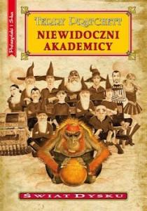 Recenzja książki Niewidoczni Akademicy - Terry Pratchett