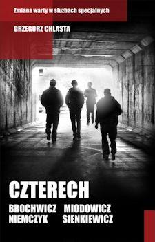 Recenzja książki Czterech - Grzegorz Chlasta