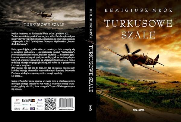 Turkusowe Szale - Remigiusz Mróz - okładka książki