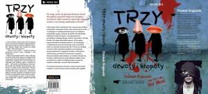 Pełna okładka książki Trzy dewoty i kłopoty