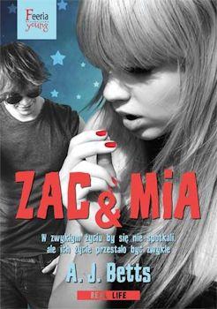 Recenzja książki Zac & Mia - A. J. Betts