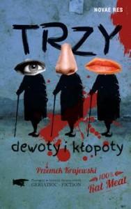 Recenzja książki Trzy dewoty i kłopoty - Przemek Krajewski