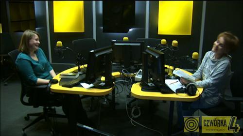 MoznaPrzeczytac.pl w Radio Czwórka