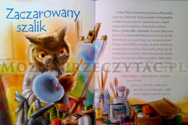Maks uczy się na błędach - zawartość książki