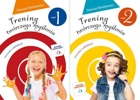 Recenzja książki Trening twórczego myślenia. Część 1 i 2 - Danuta Klimkiewicz