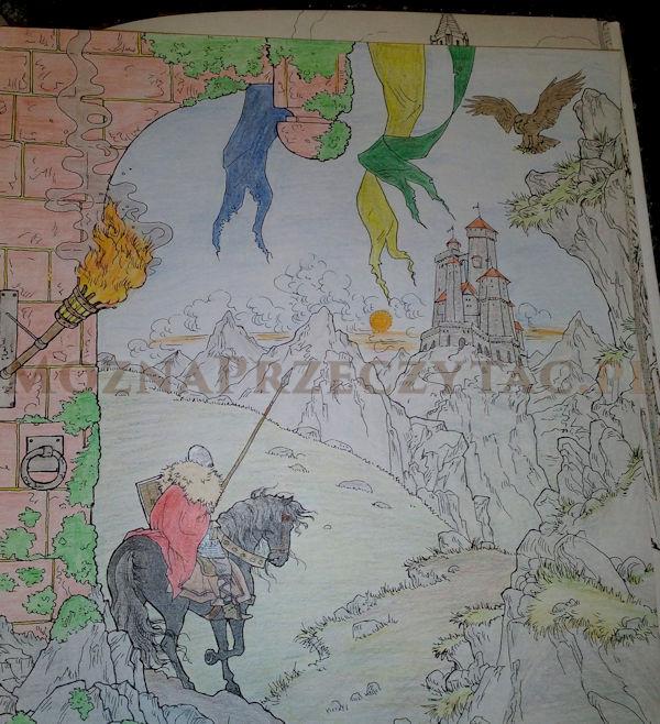 Gra o tron kolorowanka - fragment