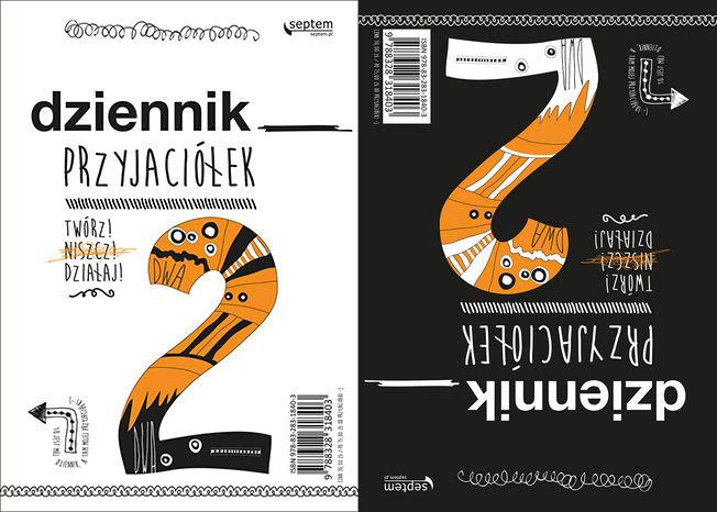 Recenzja książki Dziennik przyjaciółek 2. Twórz, niszcz, działaj! - Ewa Jarocka, Sebastian Kufel