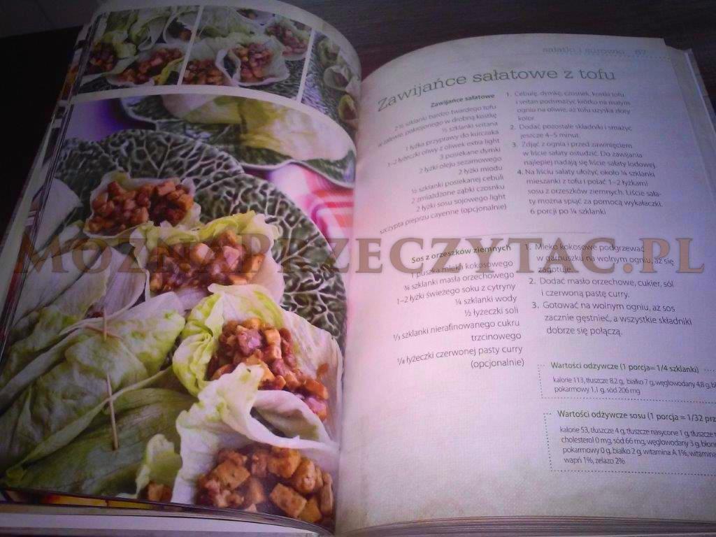 Wegańskie inspiracje ze smakiem - fragment książki