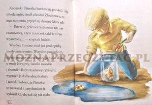 Królewicz Pinezka i królewna Łezka - fragment książki