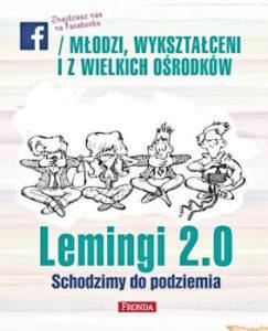 Recenzja książki Lemingi 2.0. Schodzimy do podziemia - Red. Jerzy A. Krakowski