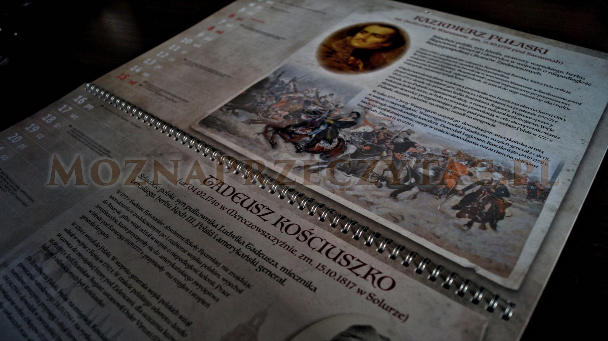 Kalendarz Polscy Bohaterowie