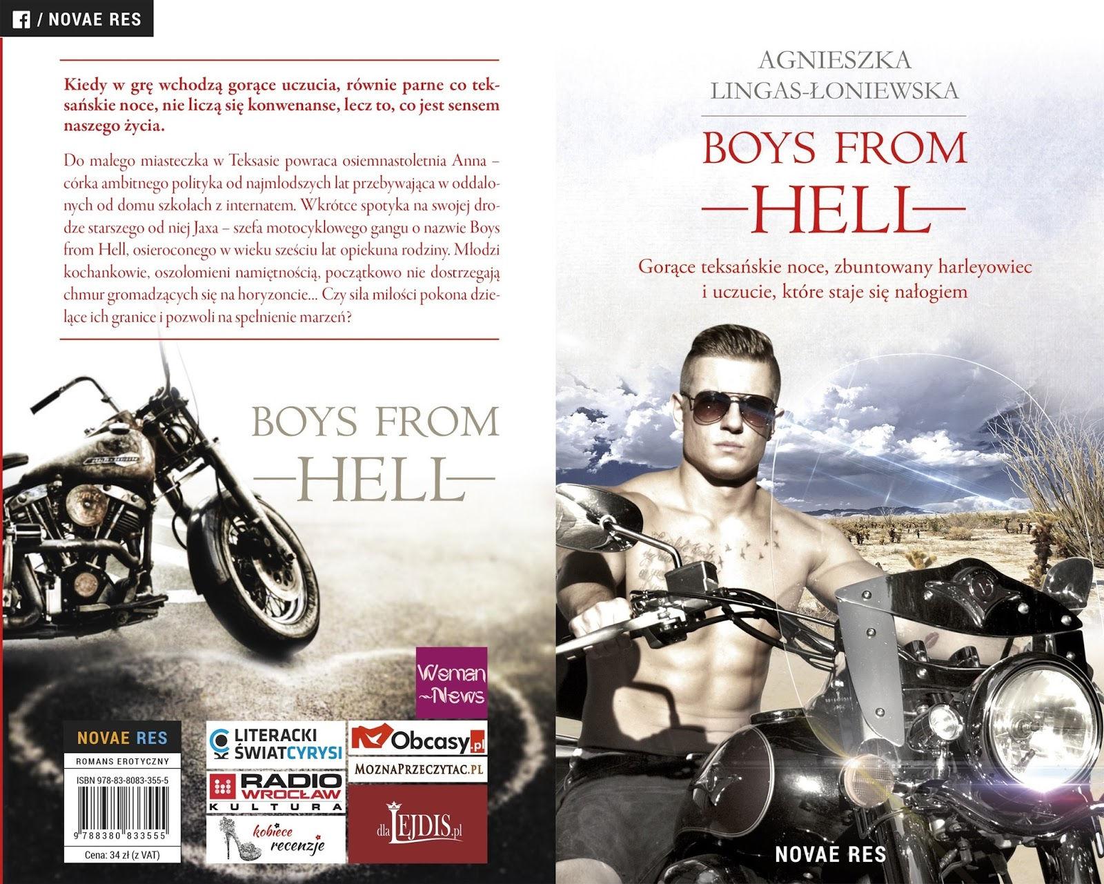 Boys from hell - patronat MoznaPrzeczytac.pl
