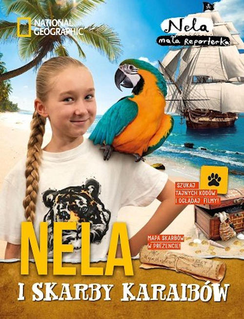 Recenzja książki Nela i skarby Karaibów - Nela