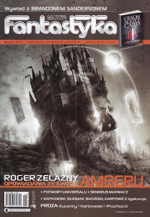 Recenzja czasopisma Nowa Fantastyka nr 6 (417) 2017 - redaktor naczelny Jerzy Rzymowski