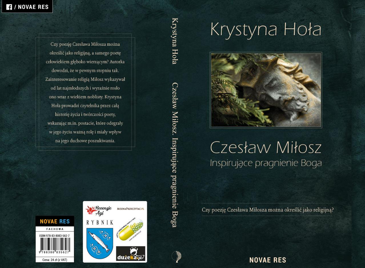 Czesław Miłosz. Inspirujące pragnienie Boga - patronat MoznaPrzeczytac.pl