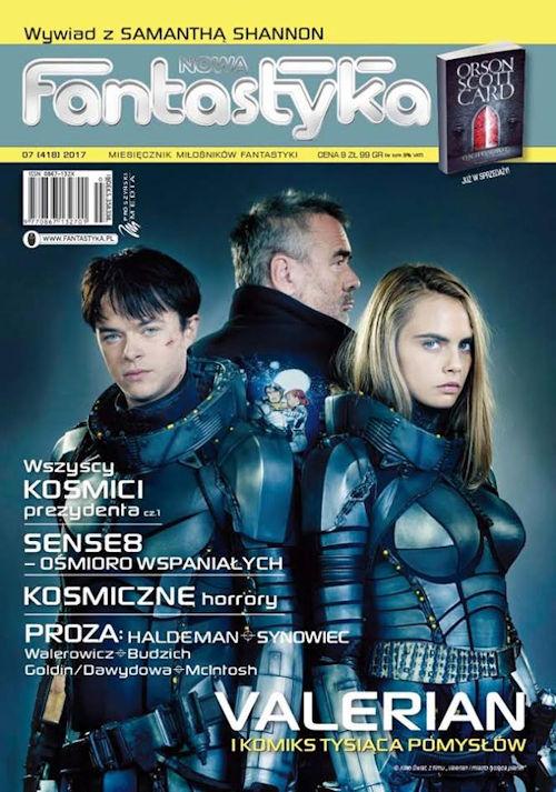 Nowa Fantastyka nr 7 (418) 2017