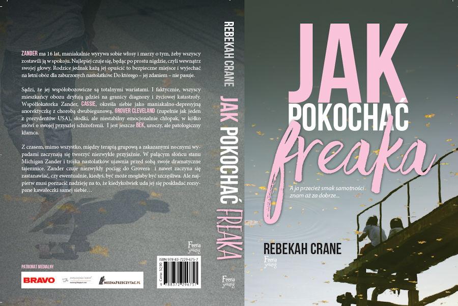 """""""Jak pokochać freaka?"""" - patronat MoznaPrzeczytac.pl"""