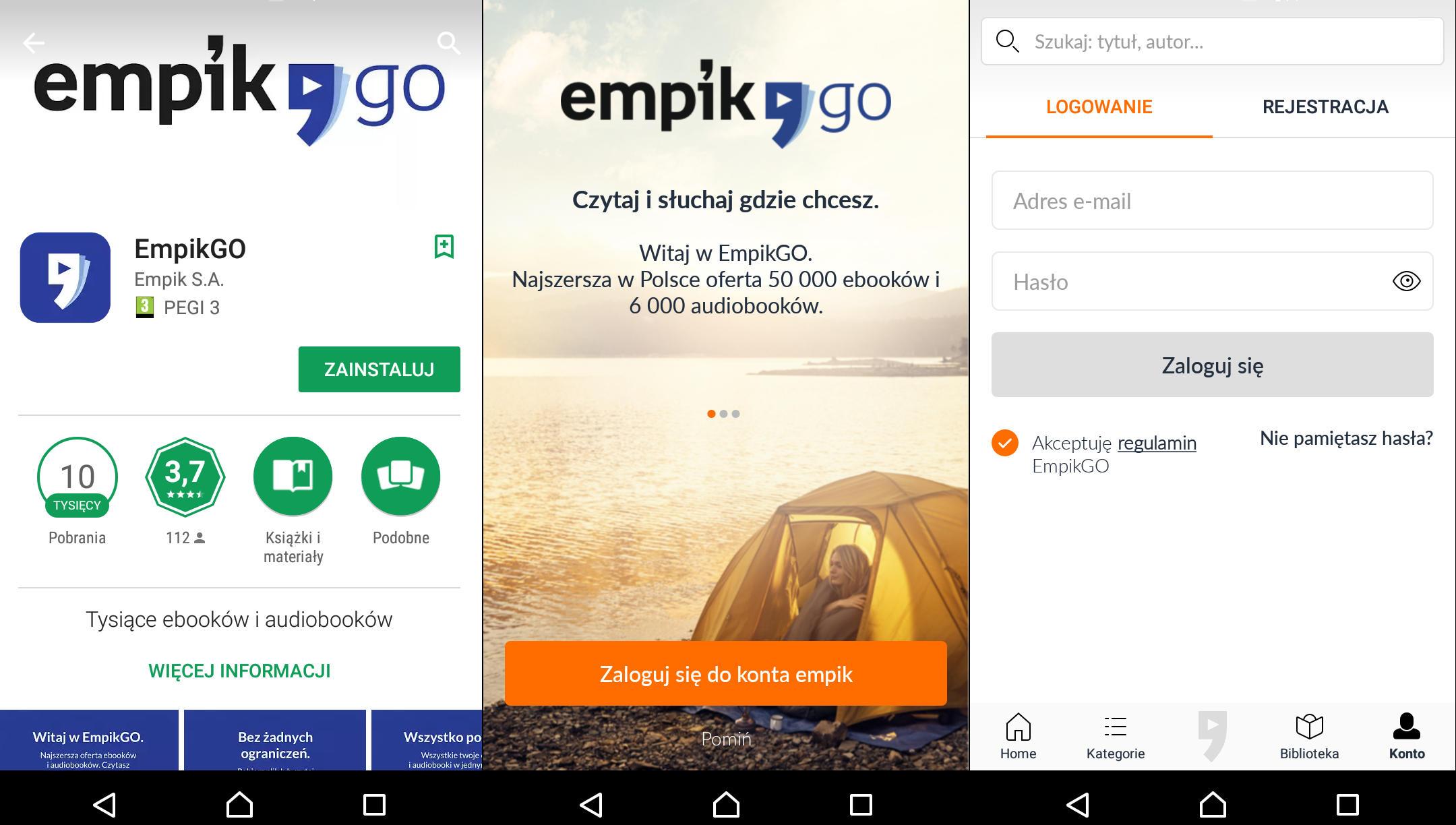 EmpikGo aplikacja