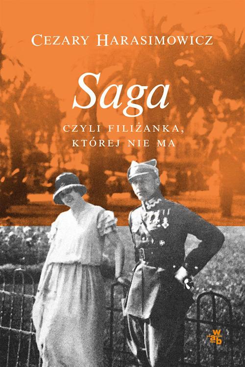 Recenzja książki Saga czyli filiżanka, której nie ma - Cezary Harasimowicz