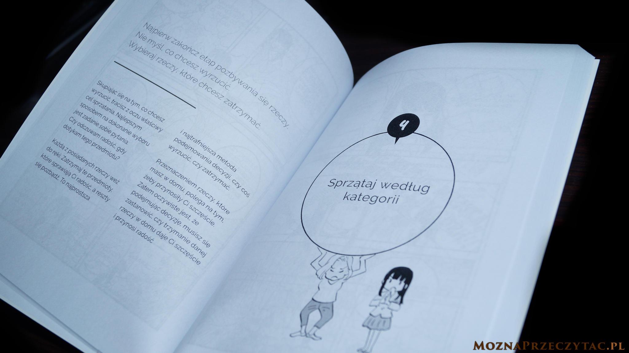 Manga sprzątania. Obrazkowy przewodnik po japońskich porządkach - Marie Kondo