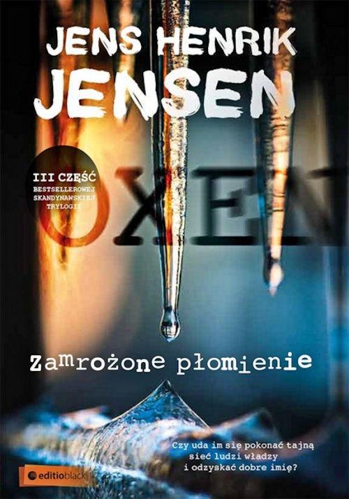 Recenzja książki Zamrożone płomienie - Jens Henrik Jensen