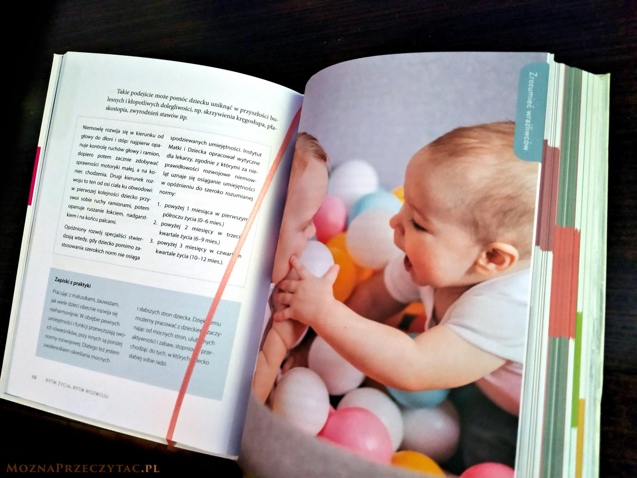 Sensoryczne niemowlę - Aleksandra Charęzińska, Joanna Szulc
