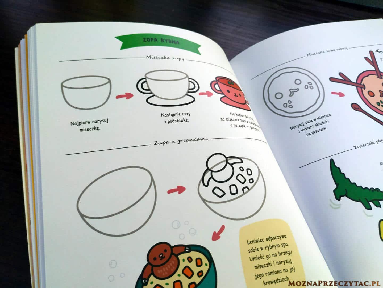 Kawaii. Jak rysować naprawdę urocze potrawy? - Angela Nguyen