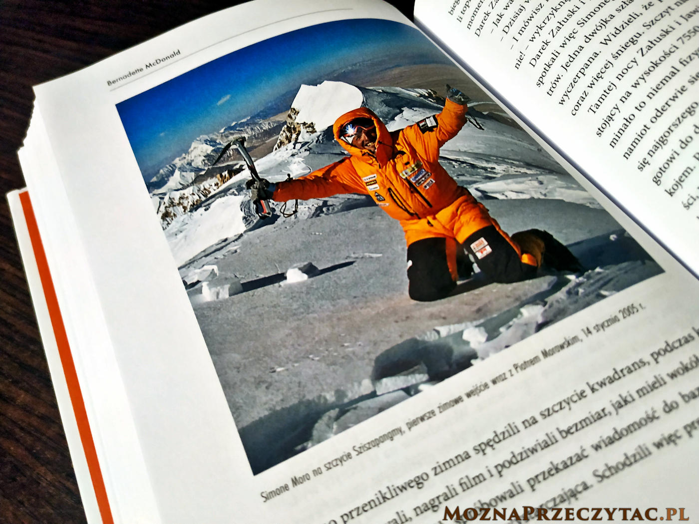 8000 zimą. Walka o najwyższe szczyty świata w najokrutniejszej porze roku - Bernadette McDonald